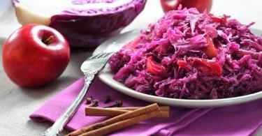Салат с красной капустой: простые рецепты с пошаговыми фото
