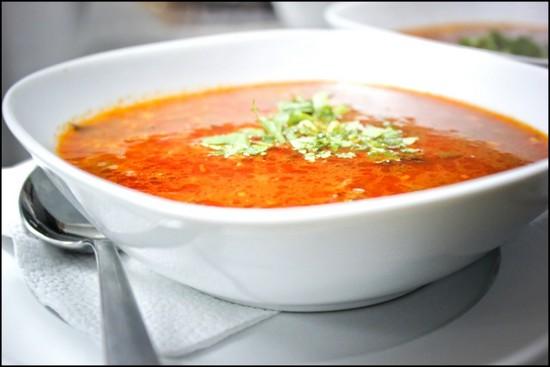 суп-харчо из курицы без добавления риса