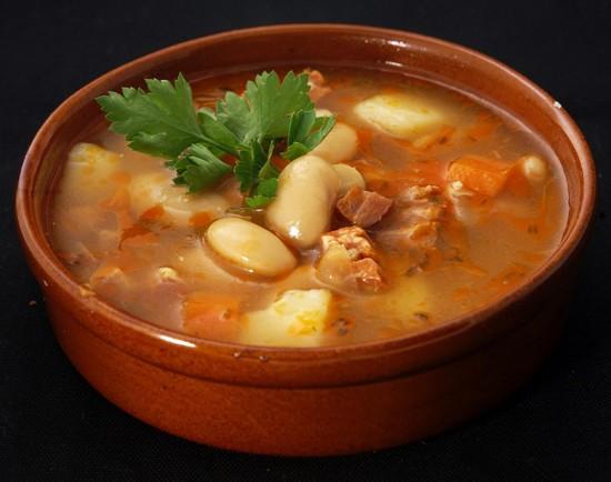 необычный суп из кролика