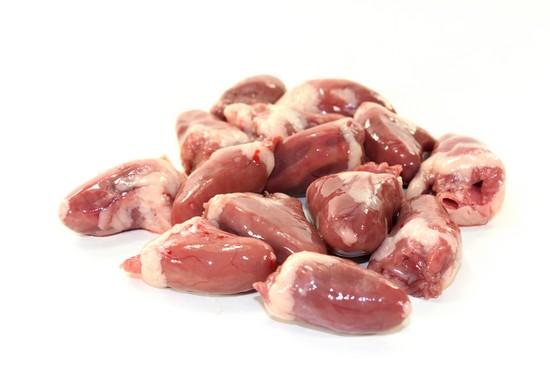 Сердечки куриные считаются низкокалорийным продуктом