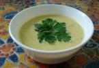 Суп-пюре из кабачков: рецепты приготовления с фото и советы