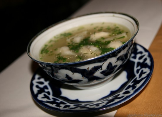 суп с пельменями, рецепт по-узбекски