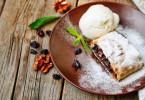 Тесто для штруделя (слоеное и вытяжное): пошаговые рецепты