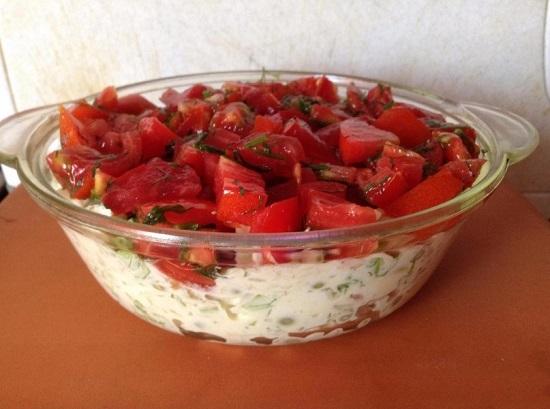 усовершенствуйте вкус салата «Красная шапочка»