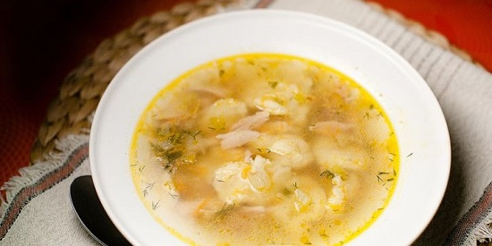 Варим суп с клецками