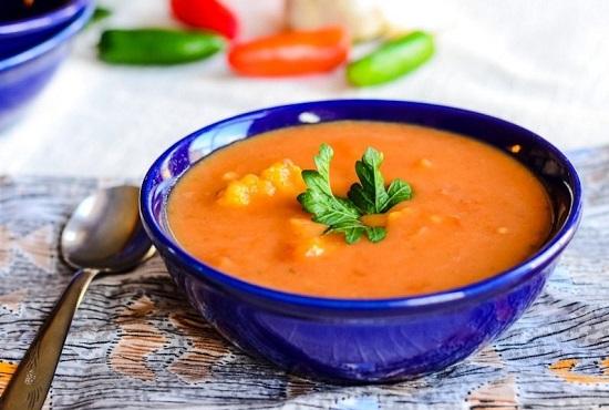 Суп-пюре из цветной капусты со сливками и курицей: рецепты