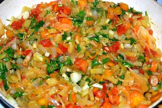 сделайте кабачковую икру без томатной пасты