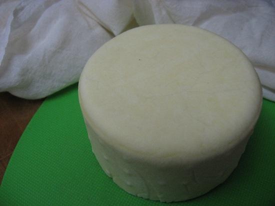 сыр, приготовленный по-грузински