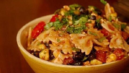 рецепт салата итальянского с макаронами