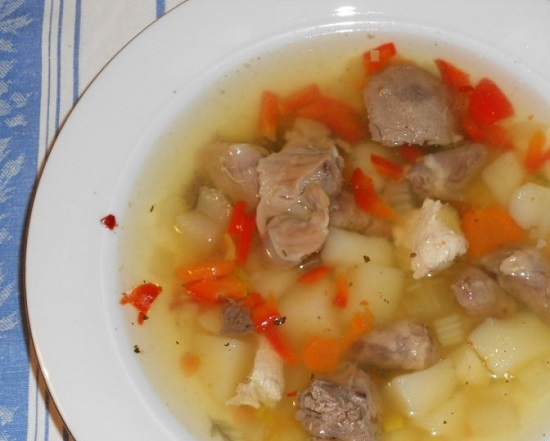 Суп из куриных сердечек: рецепты с фото приготовления вкусных блюд