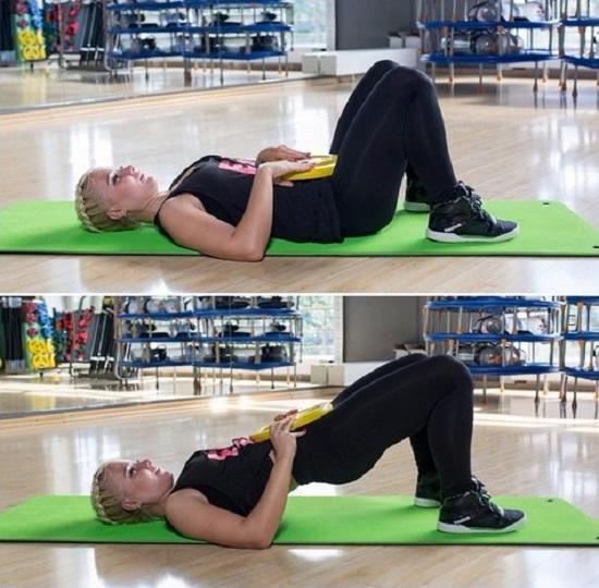 распространенное упражнение – мостик