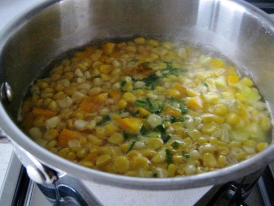 варим овощи на протяжении пятнадцати минут