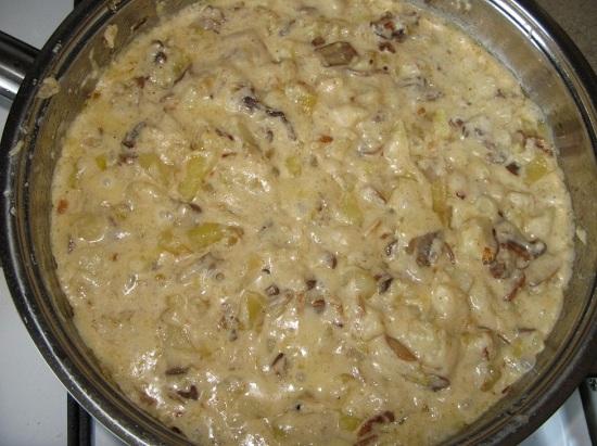 как приготовить грибы вешенки, жаренные с картошкой