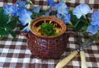 Рагу из говядины с подливкой, овощами и картофелем