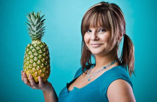 как правильно применять ананас с водкой для похудения