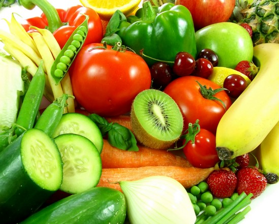 Некрахмалистые овощи и фрукты