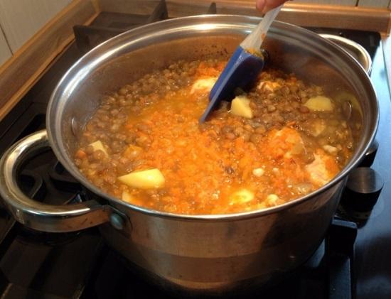 Как приготовить суп из шпината видео