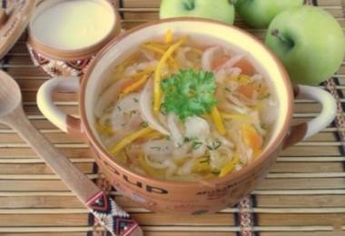 Вегетарианские супы: рецепты щей, борща, овощного супа без мяса