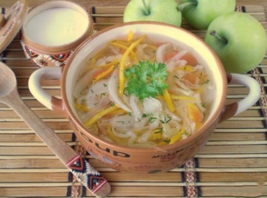 Вегетарианские супы и щи