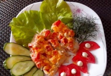 Рыба по-гречески в духовке: рецепты с фото