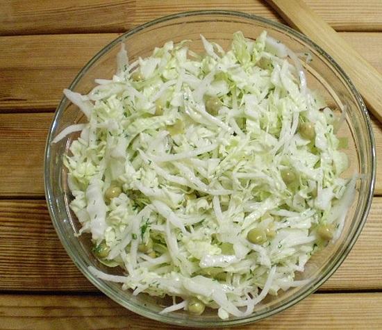 Весенний салат из редиса Дайкон