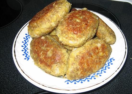 Рецепт котлет из чечевицы