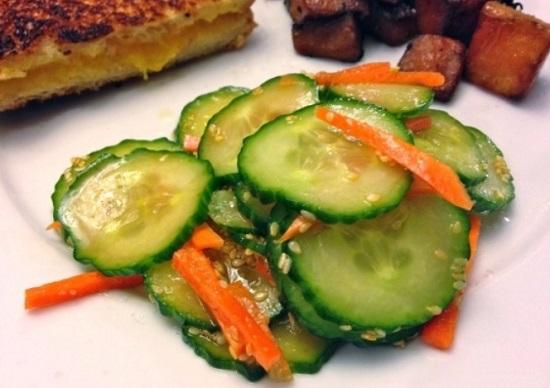 Рецепт вкусного салата для худеющих