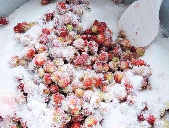 Взвесим ягоды в подготовленном виде
