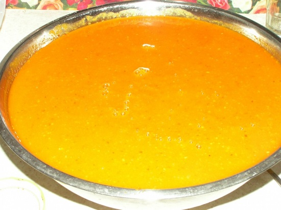 Вкусный джем с цитрусовыми нотками