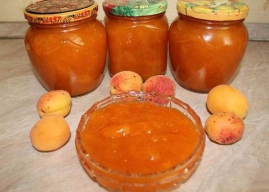 абрикосовый джем с ванильными нотками