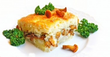 Запеканка из картофельного пюре