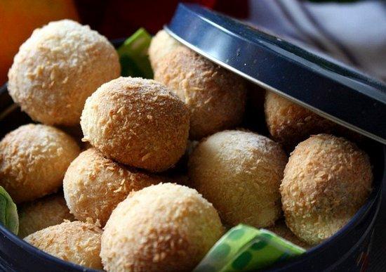 Песочно-кокосовое домашнее печенье «Минутка»