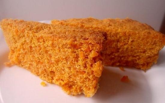 запеканка из моркови с манкой