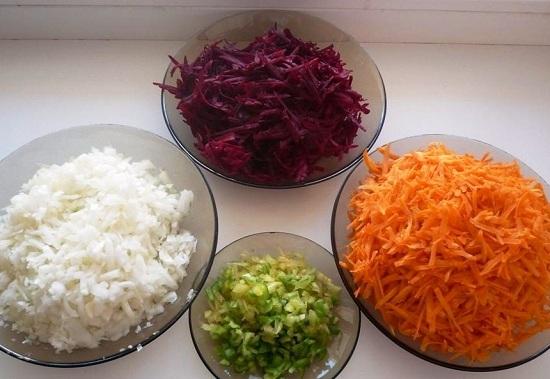 Овощи чистим