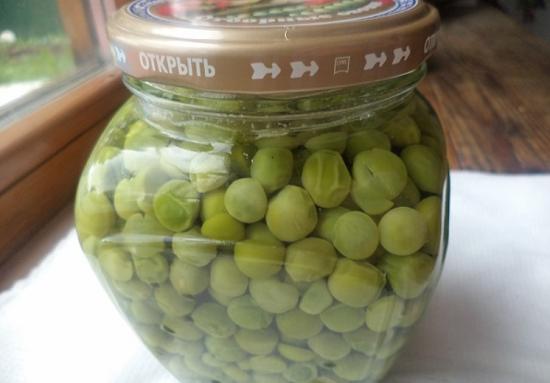 как консервировать зеленый горошек без уксуса