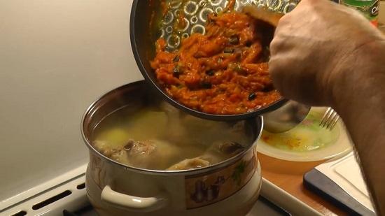 заправка для супа