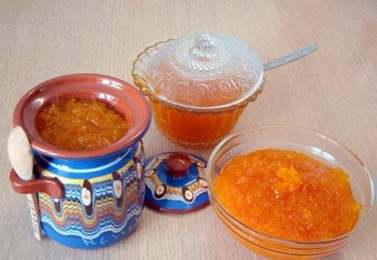 рецепт варенья из тыквы и апельсинов