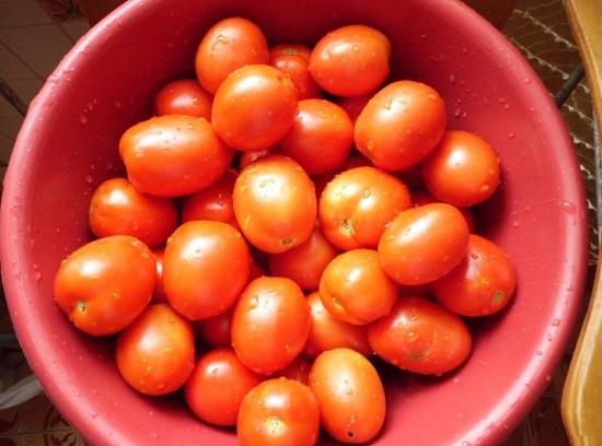 во время консервации томаты не лопались