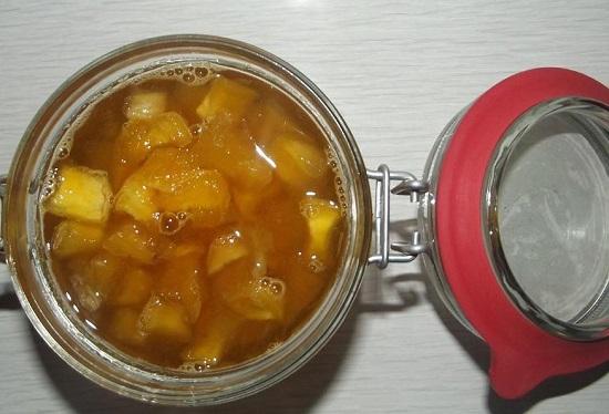 Варенье из тыквы с апельсином: рецепт традиционный