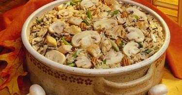 Плов с грибами постный: рецепты простые с пошаговыми фото