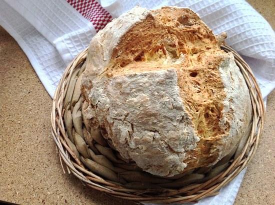 хлеб на кефирной основе