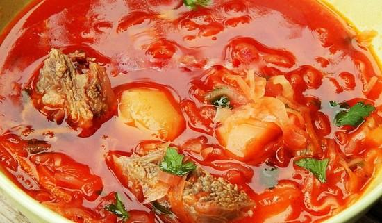 Как приготовить вкусное первое с говядиной