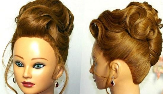 Прическа ракушка на длинные, средние и короткие волосы пошаговая 80