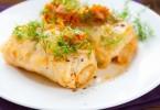 Рецепт приготовления голубцов с мясом и рисом с фото