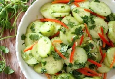 Салат из огурцов по-корейски: пошаговые рецепты на зиму