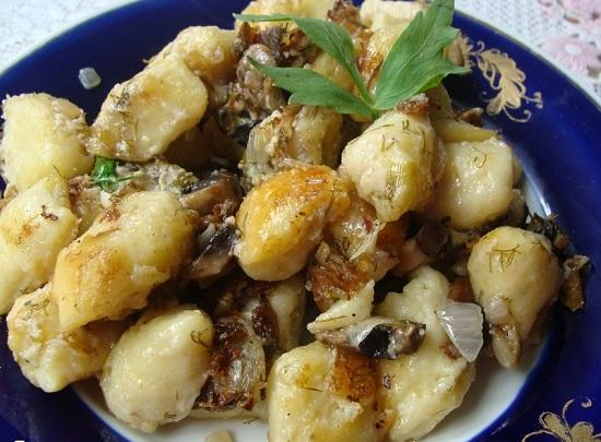 ленивый рецепт постных вареников с картошкой