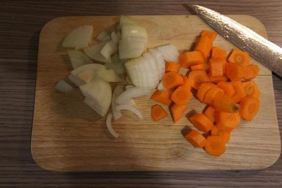 Нашинкуем овощи