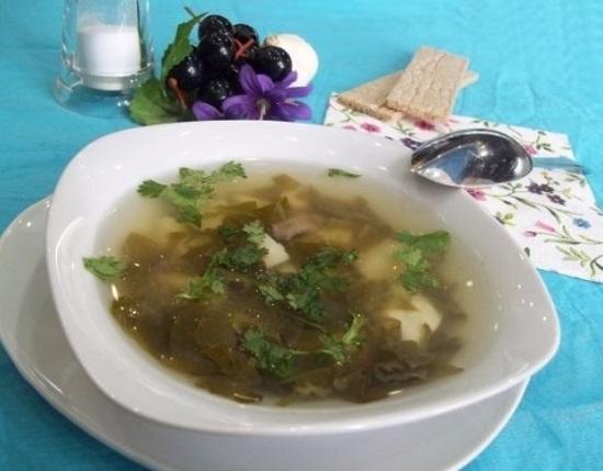 Суп из щавеля: рецепты приготовления с фото знаменитого блюда