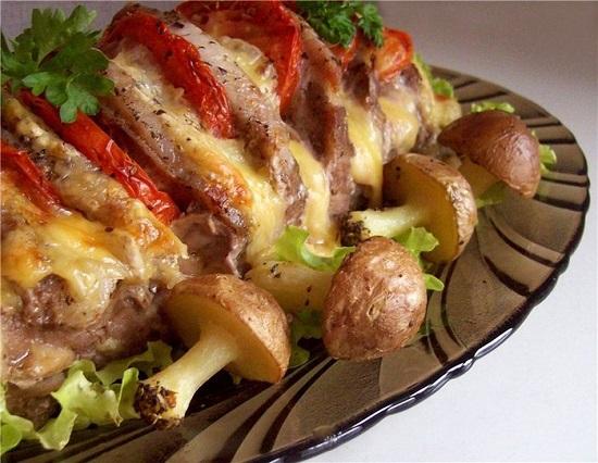 Свинина по-царски в мультиварке и духовке: рецепты с фото