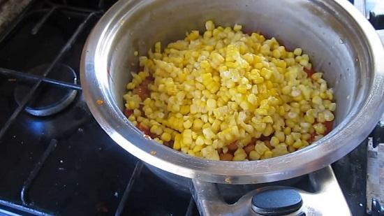 десертная кукуруза